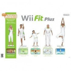 Wii Fit Plus cu Balance Board