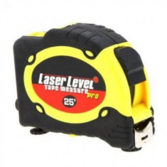 Nivela cu laser si ruleta multifunctionala Level Pro, 7.5 m