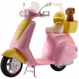 Cumpara ieftin Scuter Barbie cu accesorii, Mattel