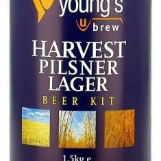 Young's Harvest Lager 40pt - kit pentru bere de casa 23 litri
