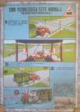 Afis Reguli la trecerea cu Cale Ferata// perioada comunista