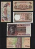 Set #6 Asia / 10 bancnote diferite necirculate / vezi scan