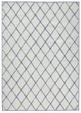 Covor Modern & Geometric Twin, Albastru, 160x230, Bougari