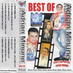 Caseta Adrian Minune – Best Of Adrian Minune, manele