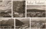 Valea Prahovei-mozaic,Breaza,Sinaia,Poiana Tapului,Busteni,Azuga,Predeal 1963, Circulata, Printata