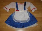 costum carnaval serbare alice pentru copii de 4-5-6 ani