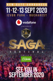 Vand 2 abonamente 3 DAY GENERAL ACCESS la Saga Festival 2020 - 11-13 sept 2020