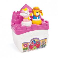 Set cuburi constructie moi, parfumate pentru copii Clemmy - Castelul roz al printesei