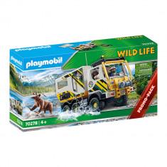 Playmobil Wild Life - Camion de expeditie in natura