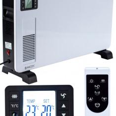 Convector Electric MalTec CH3500DW, Putere 2300W, 3 trepte incalzire, panou LCD, termostat, maner de transport, protectie la supraincalzire si teleco