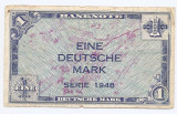 Germania 1 Deutsche Mark 1948 - U.S. Army Command, Cod 02, P-2