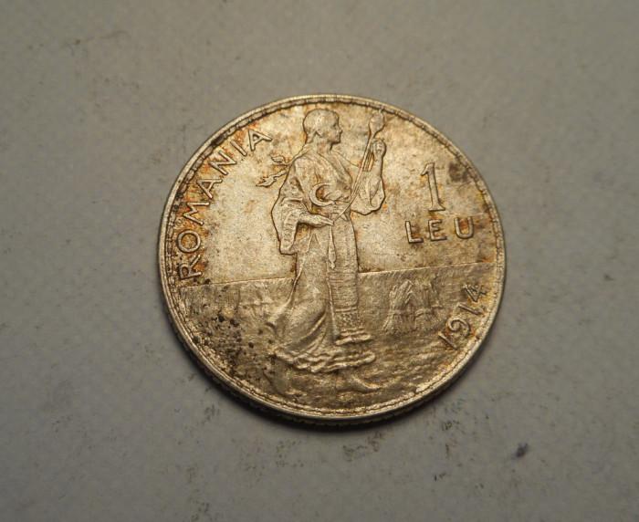 1 leu 1914 UNC