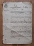 Cumpara ieftin Act notarial vechi Franta 1888 document