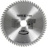 DISC CIRCULAR WOLFRAM LEMN 210MM Yato YT-6068