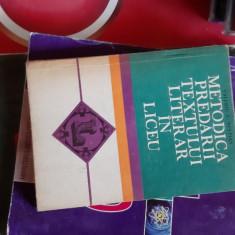 METODICA PREDARII TEXTULUI LITERAR IN LICEU -VALERIU NESTIAN