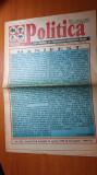 ziarul politica 25 aprilie 1998- manifest- corneliu vadim tudor
