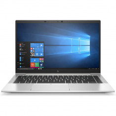 Laptop HP EliteBook 845 G7, 14 inch FHD cu procesor AMD Ryzen 5 4650 PRO (2.1GHz, up to 4 GHz, 8MB), AMD Radeon Graphics, 8GB DDR4 3200MHz, SSD 256GB,