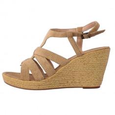 Sandale dama, din piele naturala, Formentera, 4647-3, bej