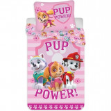 Set lenjerie pat copii Paw Patrol Pup Power 100x135 + 40x60 SunCity BRM004924, Roz