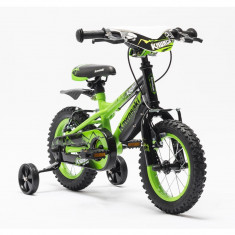 Bicicleta copii Kawasaki KRUNCH 12 green by Merida Italy for Your BabyKids