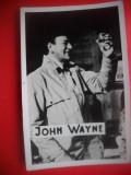 HOPCT 18521  JOHN WAYNE - ACTORI SI ARTISTI CELEBRI-FOTO D=88/ 60 MM