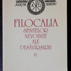 FILOCALIA SFINTELOR NEVOINTE ALE DESAVIRSIRII - 6 - VASILE RADUCA