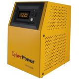UPS Inverter (pt. motoare, pompe, centrale termice), Sinusoida Pura, 1000VA/ 700W, AVR, 2 x socket Shucko, display LCD, fara baterie, Cyber Power