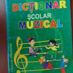 Dictionar scolar muzical-Simion Vaida