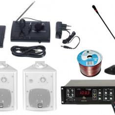 Kit Sonorizare Biserica A1 cu USB si Bluetooth