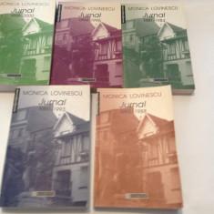 MONICA LOVINESCU  -JURNAL  5 VOLUME -  P1