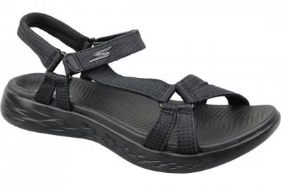 Sandale sport Skechers On The Go 600 15316-BBK pentru Femei foto
