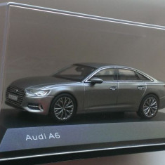 Macheta Audi A6 C8 2018 gri - iScale 1/43