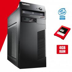 Calculator second hand Lenovo m72 Tower G550 4GB DDR3 SSD 128GB