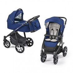 Carucior 2 in 1 Baby Design Lupo Comfort Limited 13 Navy Blue 2019