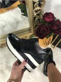 Adidasi dama negri cu platforma marime 40+CADOU
