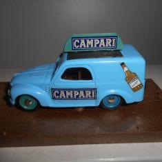Macheta FIAT 500 C VAN CAMPARI 1951 - Brumm scara 1:43
