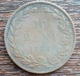 (MR32) MONEDA ROMANIA - 10 BANI 1867, WATT & CO