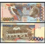 = SAINT THOMAS AND PRINCE –50 000 –DOBRAS–1996 –UNC =