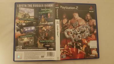 [PS2] W Crush Hour - joc original Playstation 2 foto