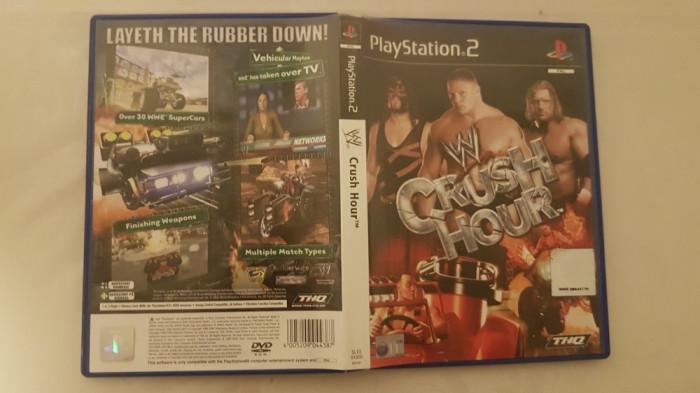 [PS2] W Crush Hour - joc original Playstation 2