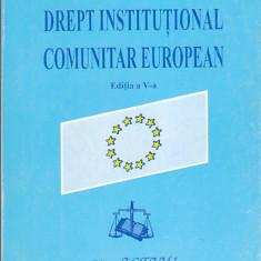 ION P FILIPESCU - DREPT INSTITUTIONAL COMUNITAR EUROPEAN