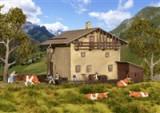 Kit cabana de munte Sils in Grevasalvas H0 38812 Kibri