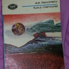 Fluxul memoriei  / A. E. Baconsky BPT 1289