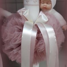 Lumanare de botez pentru fetite si baieti - ROZ2466