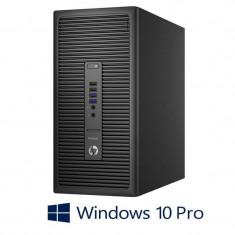 PC Refurbished HP ProDesk 600 G2 MT, Quad Core i5-6500T, Windows 10 Pro
