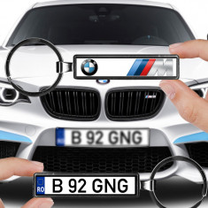 Breloc numar auto BMW M