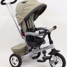 Tricicleta Baby Mix cu sezut reversibil Typhoon Beige