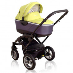 Carucior multifunctional 3 in 1 Latina verde Cotobaby