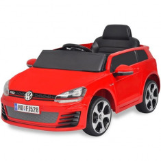 Mașină de tip ride-on cu telecomandă VW Golf GTI 7 12 V, Roșu