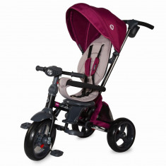 Tricicleta multifunctionala 4 in 1 cu sezut reversibil Coccolle Velo Violet